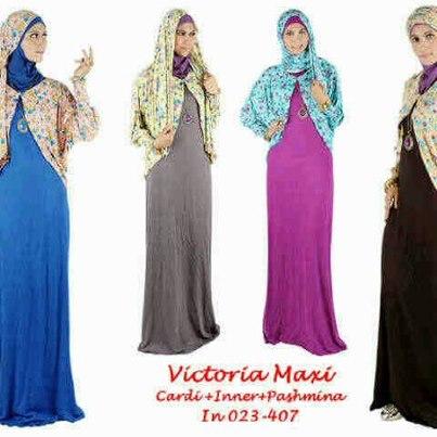 gamis victoria jual baju dress wanitabaju muslim modis